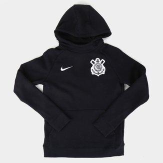 Moletom Juvenil Corinthians Nike GFA c/ Capuz