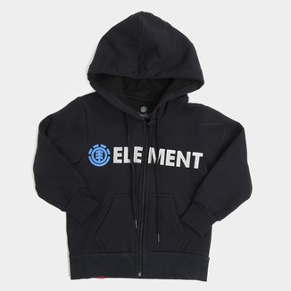 Moletom Juvenil Element Blazin Zip Masculino