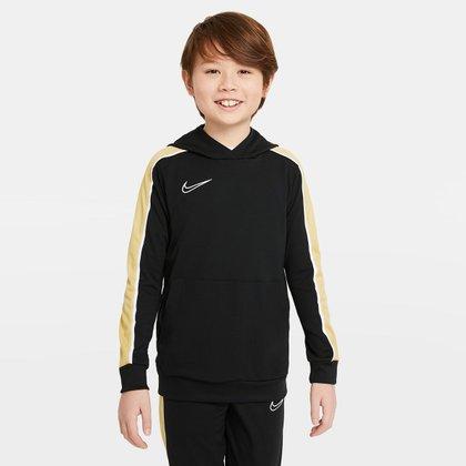 Moletom Juvenil Nike Dri-Fit Academy Canguru