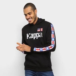 Moletom Kappa Bandeira USA Masculino