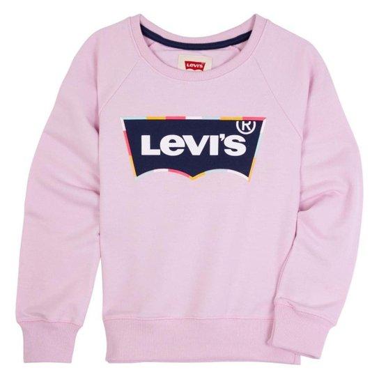 Moletom Levis Infantil - 80018 - Rosa