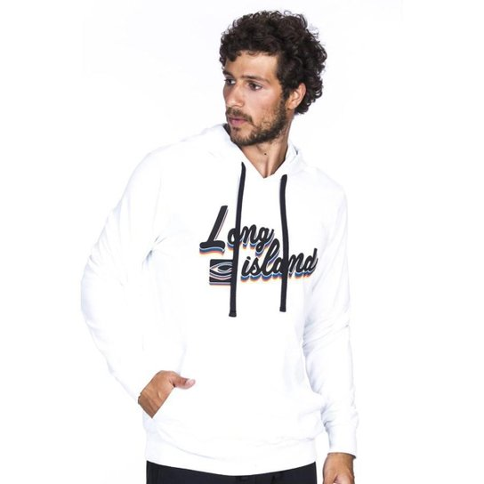 Moletom Long Island Straus Branco