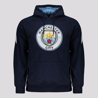 Moletom Manchester City Trilobal Marinho