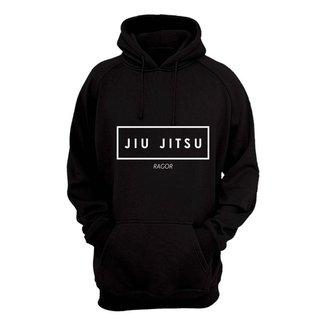 Moletom Masculino Fechado Jiu Jitsu Confortável Casual
