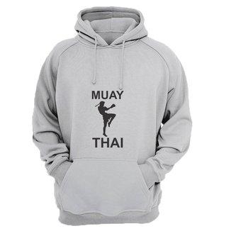 Moletom Masculino Fechado Muay Thai Confortável Dia a Dia