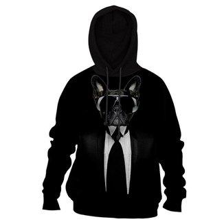Moletom Moleton blusa de frio Canguru Black Dog casaco blusão