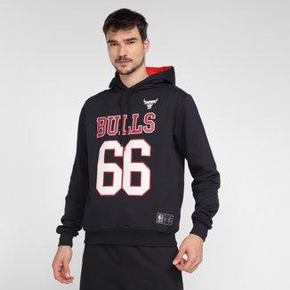 Moletom NBA Chicago Bulls Com Capuz Masculino