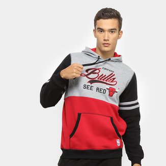 Moletom NBA Chicago Bulls See Red Masculino