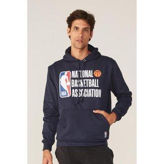 Moletom NBA Fechado Com Capuz Masculino