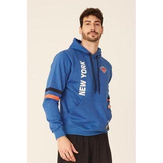 Moletom NBA Fechado Com Capuz New York Knicks Masculino