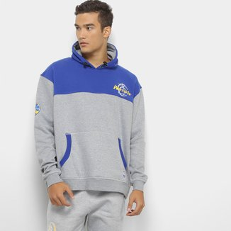 Moletom NBA Golden State Warriors XXG Fechado Masculino