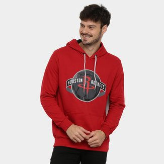 Moletom NBA Houston Rockets Canguru Masculino