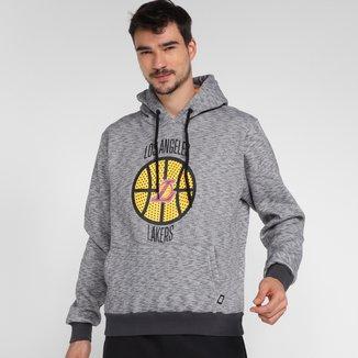 Moletom NBA Los Angeles Lakers Canguru Masculino