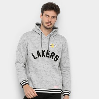 Moletom NBA Los Angeles Lakers Mitchell & Ness Mescla Masculino