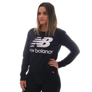 Moletom New Balance Logo Feminino