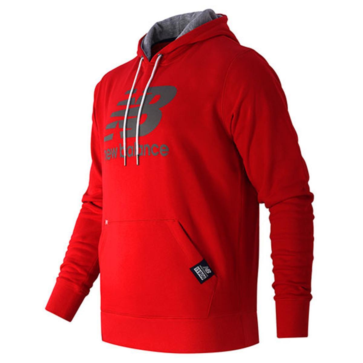 b26343314ad Moletom New Balance Pullover Hoodie Masculino - Compre Agora