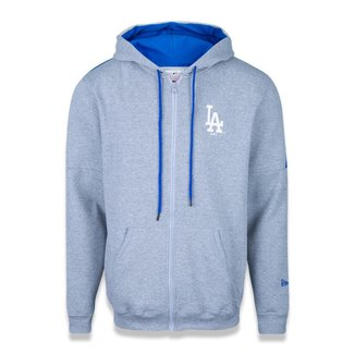 Moletom New Era Canguru Aberto Los Angeles Dodgers MLB