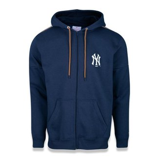 Moletom New Era Canguru Aberto New York Yankees MLB