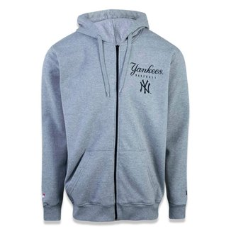 Moletom New Era Canguru Aberto New York Yankees MLB