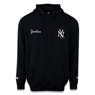Moletom New Era Canguru Fechado New York Yankees MLB