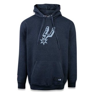 Moletom New Era Canguru Fechado San Antonio Spurs NBA