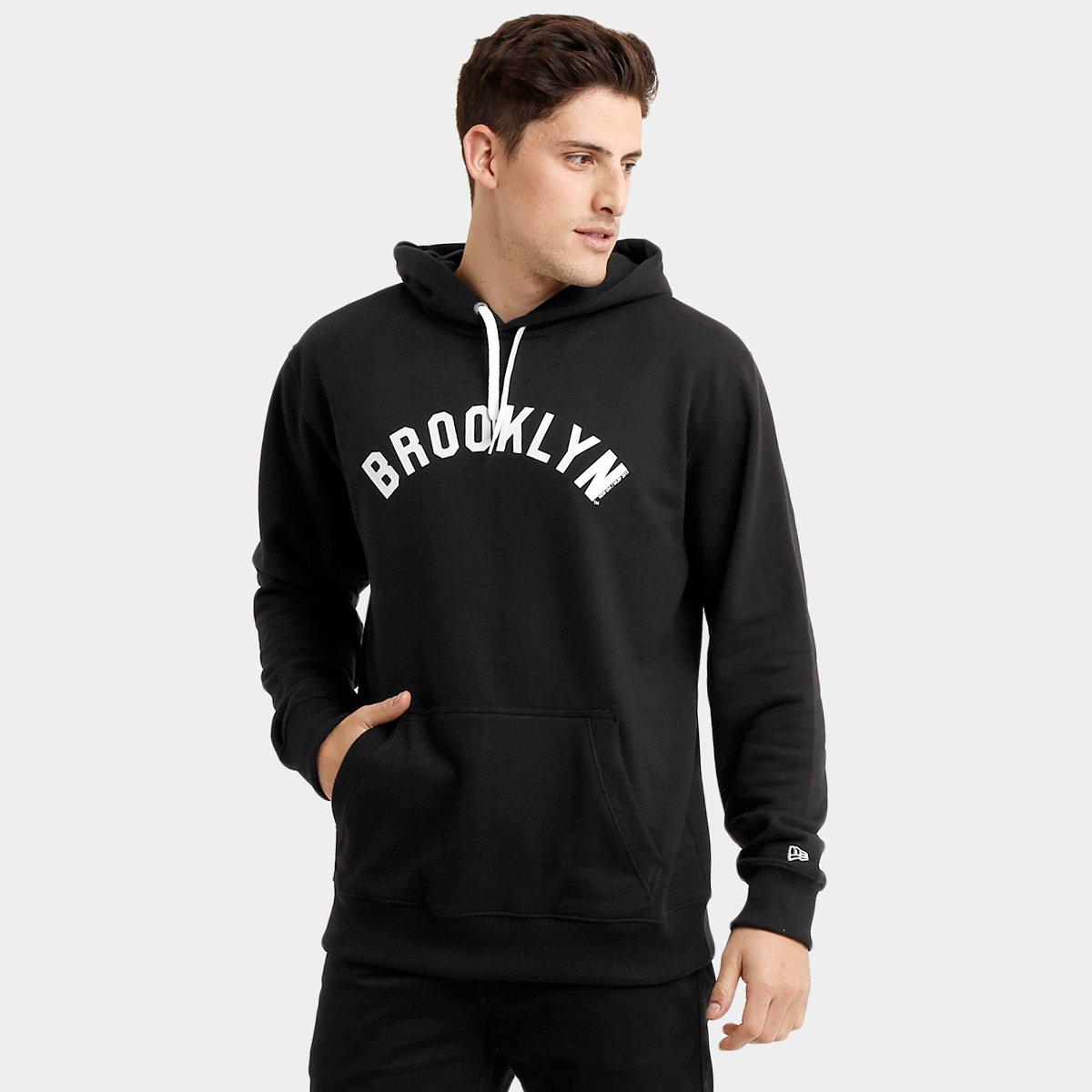 Moletom New Era MLB Brooklin - Compre Agora  7827a10515a