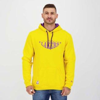 Moletom New Era NBA Los Angeles Lakers Amarelo