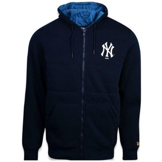 Moletom New Era Neyyan New York Yankees Neon Id Light Masculino