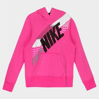 Moletom Nike Bf Gfx Oth Hoody Yth c/ Capuz Infantil