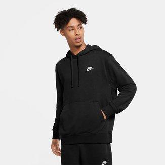 Moletom Nike Club Canguru Masculino