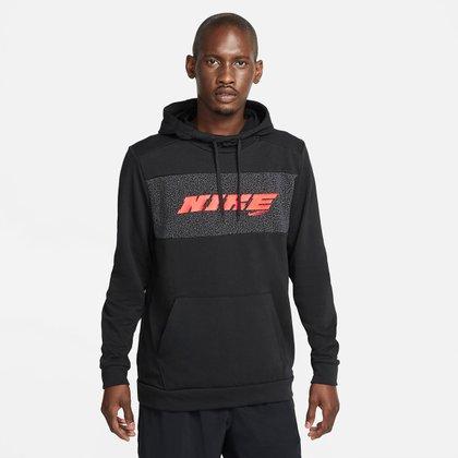 Moletom Nike Dry Fit Sport Clash Energy Canguru Masculino