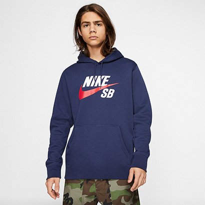 Moletom Nike SB Icon Essnl Masculino - Masculino
