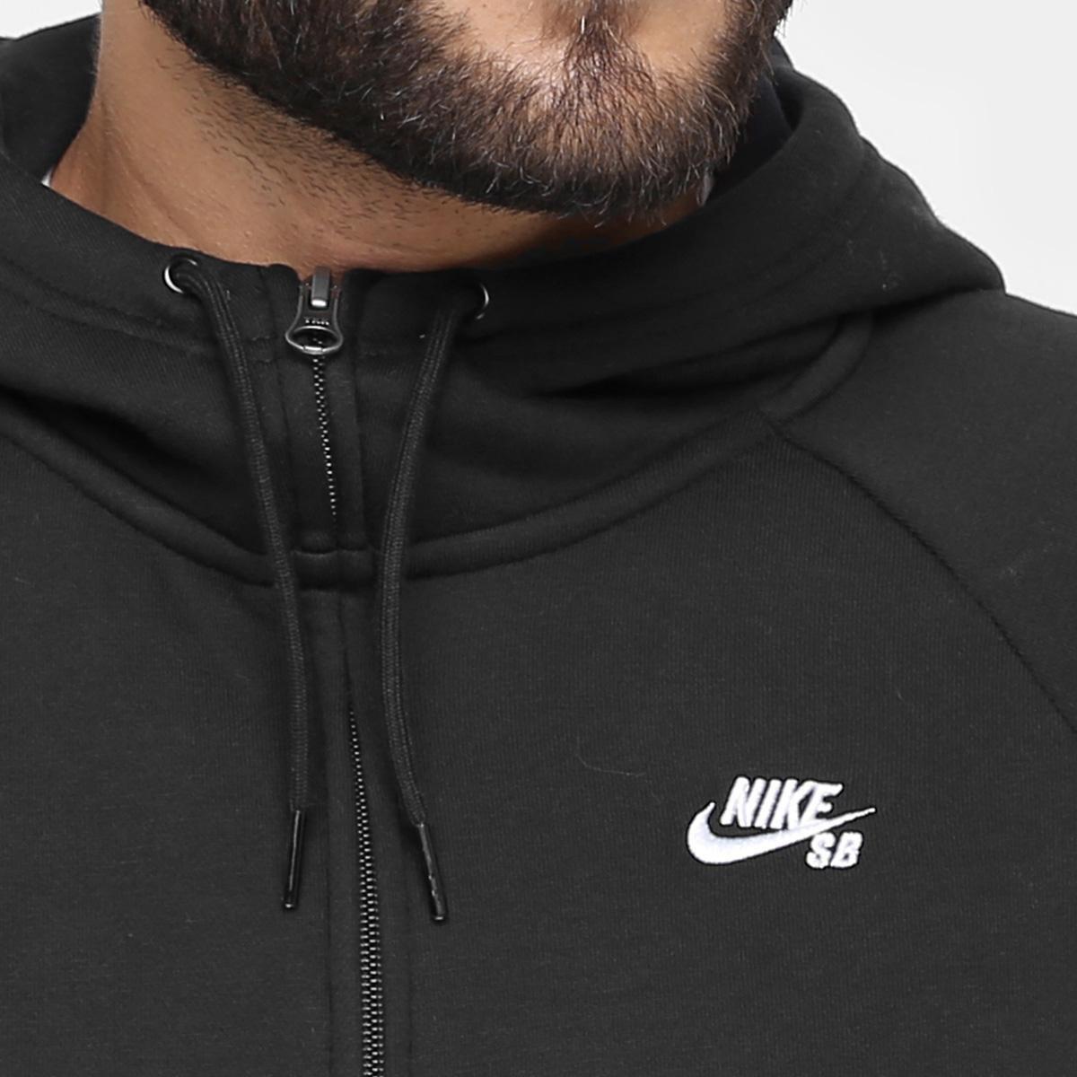 ... bdd88d7596f Moletom Nike SB Icon Fz Hoodie Masculino - Compre Agora  Netshoes ... c708616eb51