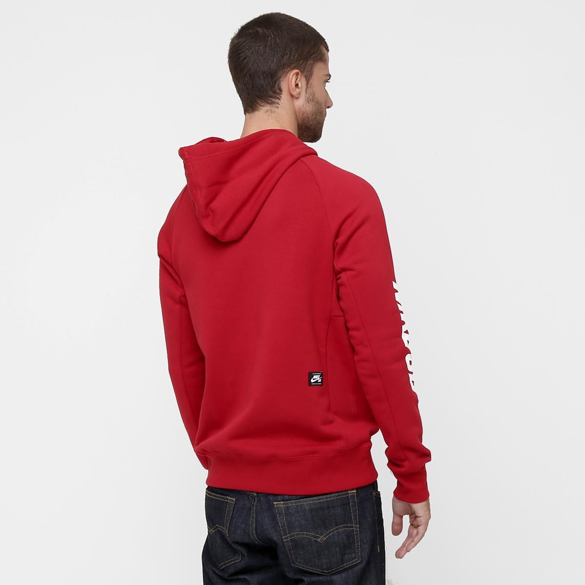 845b21d7e8 Moletom Nike SB Icon Yarn Dye Masculino - Compre Agora