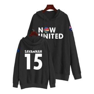 Moletom Now United Savannah Clarke 15 Austrália Feminino