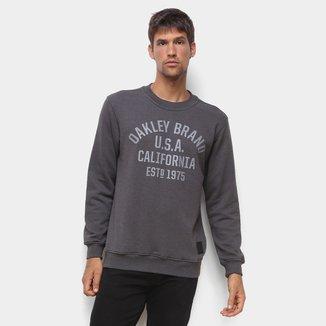 Moletom Oakley Athletic Crew Masculino