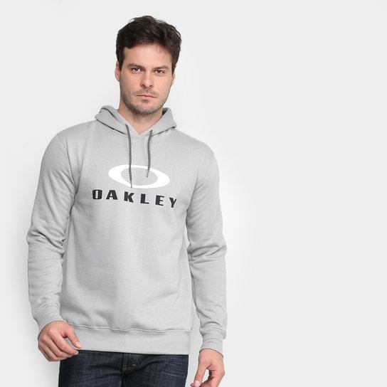 Moletom Oakley Dual Pullover Masculino - Cinza
