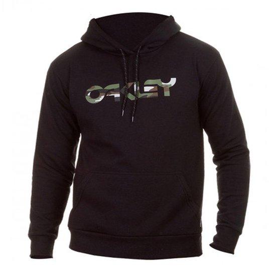 Moletom Oakley Mark Pullover B1B Blackout - Preto