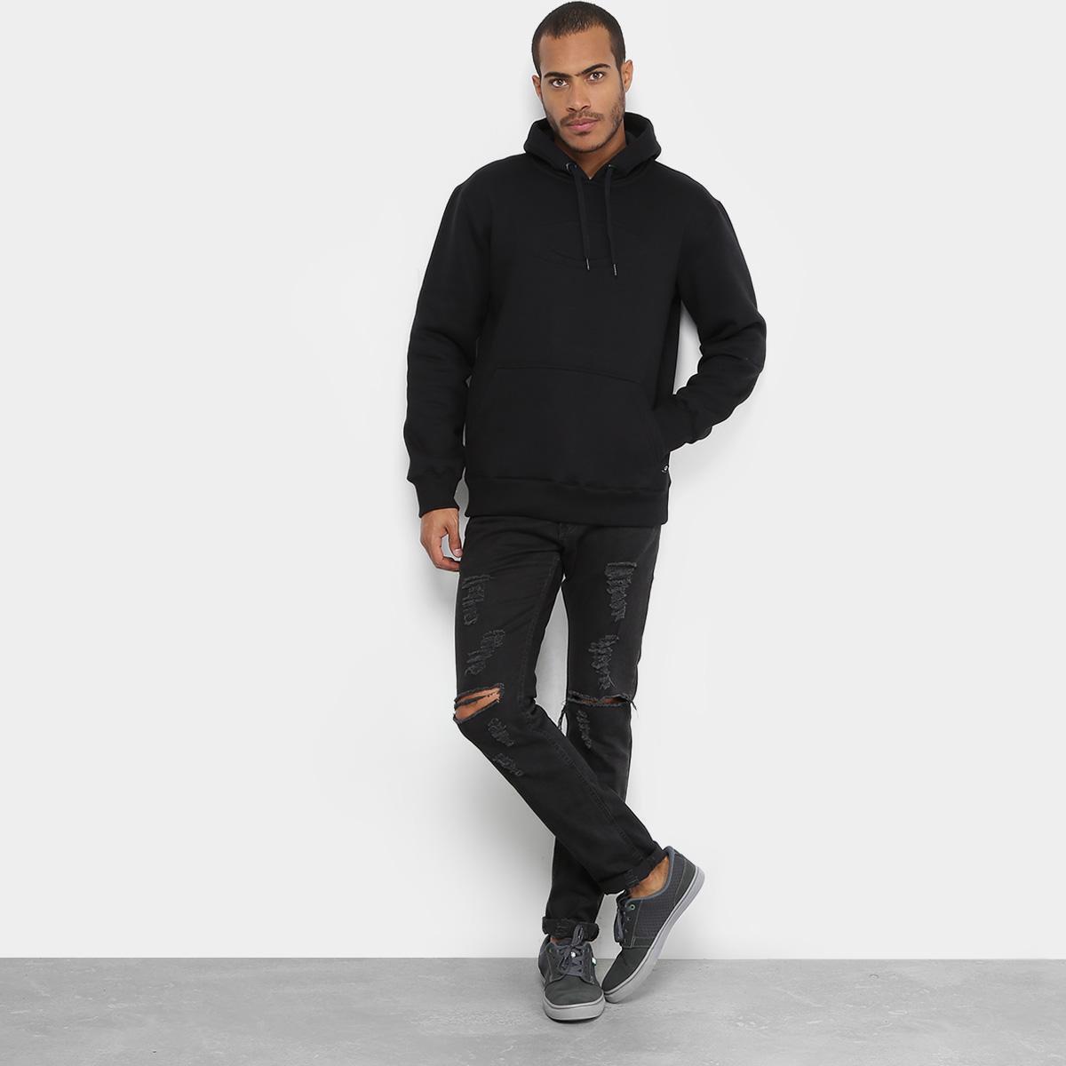 Moletom Oakley Mod One Brand 2.0 Pullover Masculino - Preto - Compre ... 6e44610ada
