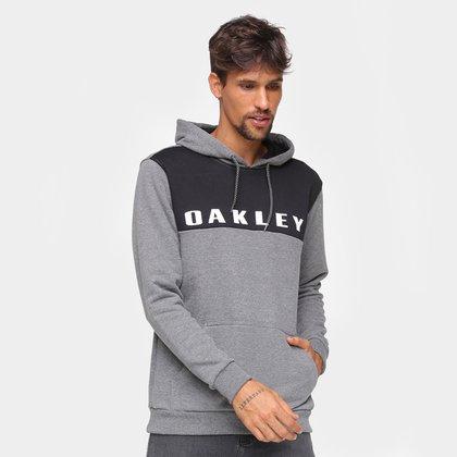 Moletom Oakley Sport Pullover Canguru Masculino