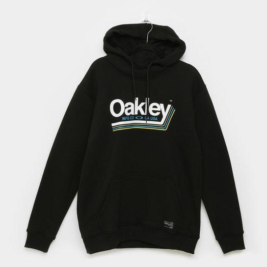 Moletom Oakley Tractor Label Masculino - Preto