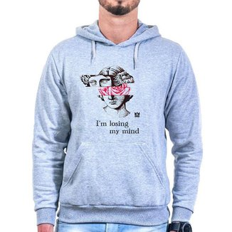 Moletom Oldsen Losing Mind Masculino