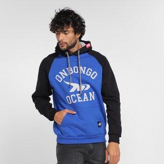 Moletom Onbongo Ocean Canguru Masculino