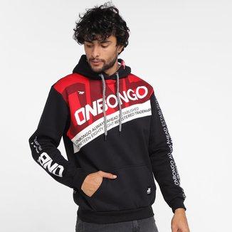 Moletom Onbongo Trademark Canguru Masculino