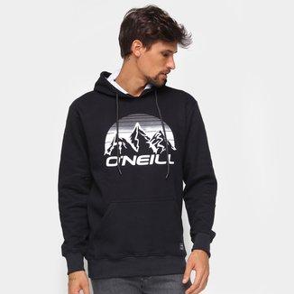 Moletom O'Neill Fec Mount Canguru Masculino