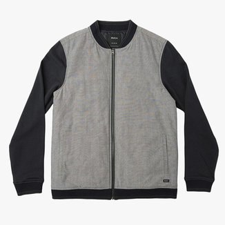 Moletom Oxford Bomber  Carbon   Masculino