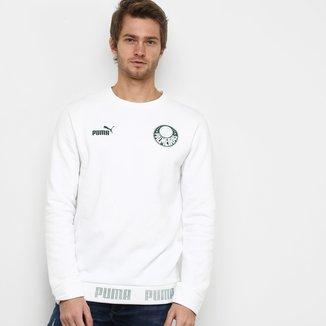 Moletom Palmeiras Culture Puma Crew Masculino