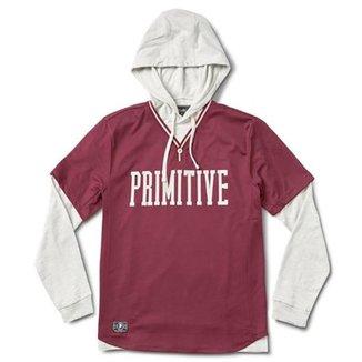 Moletom Primitive TwoFer Baseball Hood