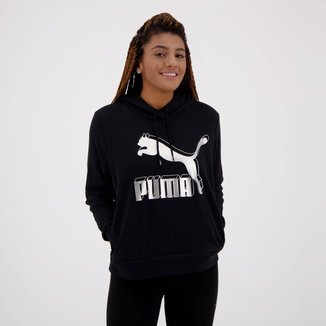 Moletom Puma Classics Logo Hoody Feminino
