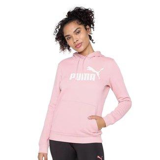 Moletom Puma Essentials Logo Hoodie Feminino